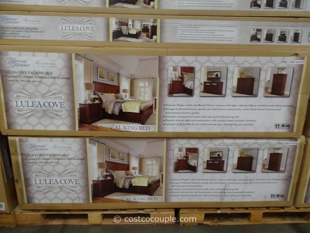 Universal Furniture Lulea Cove Cal King Bed