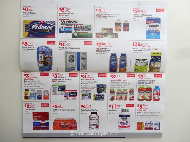 Costco February 2015 Coupon Book 01/29/15 to 02/22/15