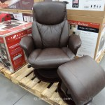 Leather Chair With Ottoman Costco Chair Ideas