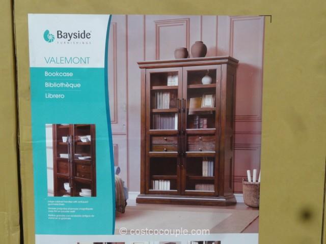 Bayside Furnishings Valemont Bookcase