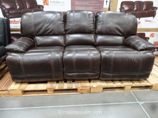 Genial Cheers Clayton Leather Sofa Costco Www Redglobalmx Org