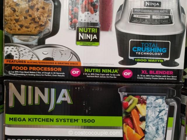Ninja Mega Kitchen System 1500 Accessories Part - 32: NINJA Nutri ...