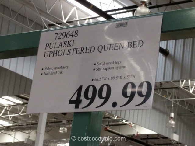 Pulaski Upholstered Queen Bed