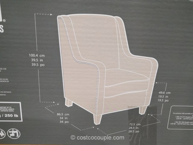 True Innovations Fabric Accent Chair