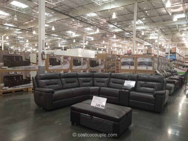 Kuka Leather Reclining Sectional : dillon sectional costco - Sectionals, Sofas & Couches