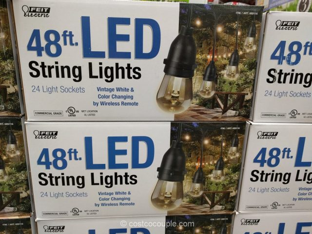 Feit Electric 48 Ft Led String Lights