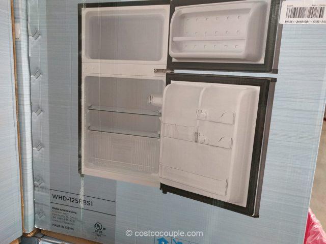 Midea Double Door Compact Refrigerator