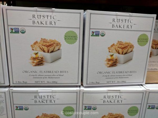 Rustic Bakery Organic Rosemary Flatbread Bites
