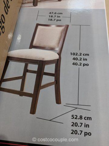Pulaski Furniture 9 Piece Counter Height Dining Set