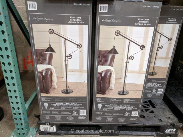 Bridgeport Designs Pulley Floor Lamp