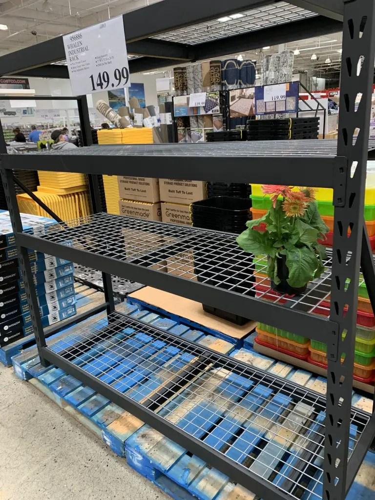 costco whalen industrial rack costco fan