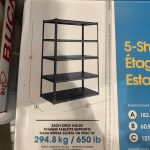 Costco Whalen Storage Rack 5 Shelf Z Beam Steel Rack Costco Fan