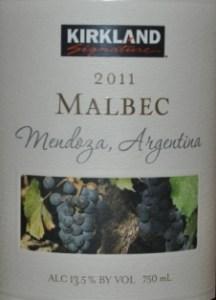 Kirkland Signature Mendoza Malbec