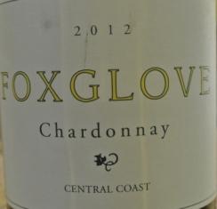 2012 Foxglove Chardonnay