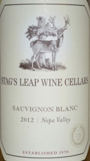 2012 Stags Leap Wine Cellars Sauvignon Blanc