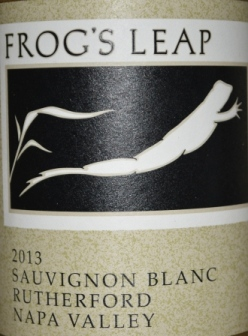 2013 Frogs Leap Rutherford Sauvignon Blanc