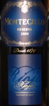 2008 Montecillo Rioja Reserva