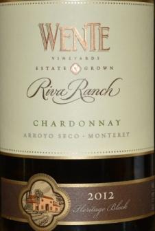2012 Wente Riva Ranch Chardonnay