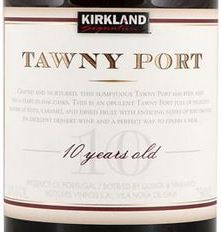 2013 Kirkland Signature 10-Year Tawny Port