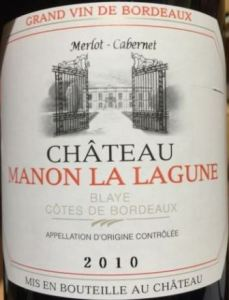 2010 Manon La Lagune Bordeaux