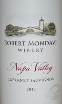 2012 Robert Mondavi Napa Cabernet