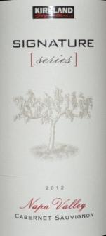 2012 Kirkland Signature Napa Cabernet Sauvignon