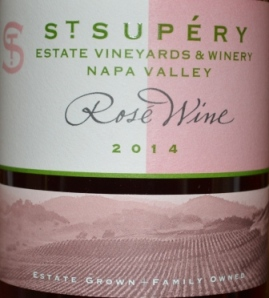 2014 St Supery Estate Napa Rosé