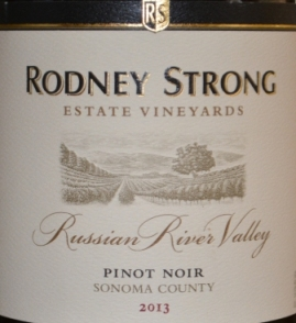 2013 Rodney Strong Russian River Pinot Noir