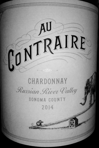 2014 Au Contraire Chardonnay