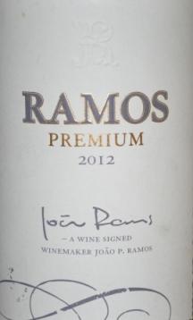 2012 Ramos Premium Red Alentejano