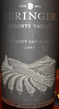 2013 Beringer Knights Valley Cabernet Sauvignon