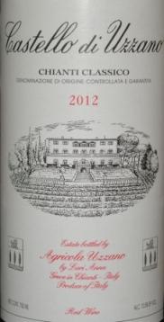 2012 Castello di Uzzano Chianti Classico