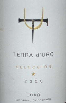 2008 Terra D'Uro Seleccion Toro