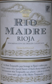 2014 Rio Madre Rioja