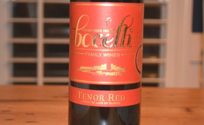 2015 Bocelli Tenor Red Toscana IGT