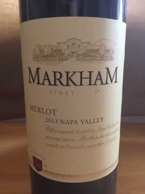 2013 Markham Merlot Napa Valley & 2013 Franciscan Napa Valley Merlot - CostcoWineBlog.com