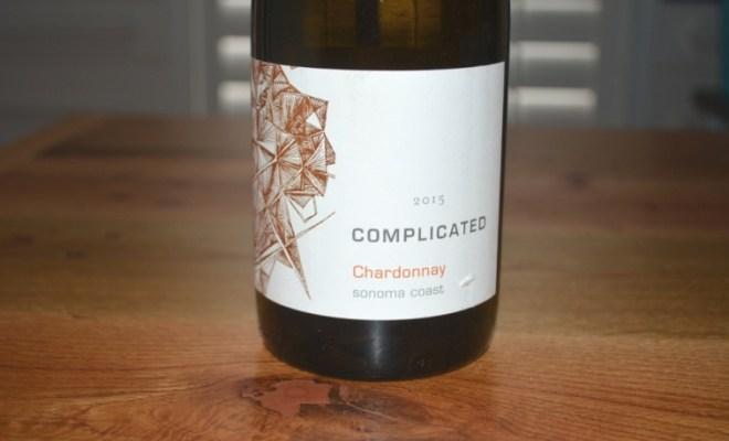 2015 Complicated Sonoma Coast Chardonnay