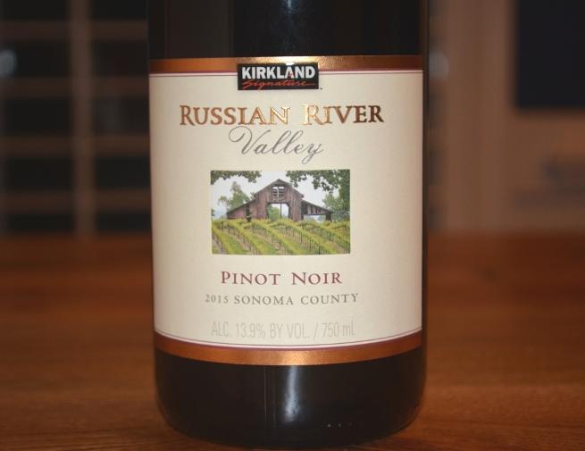 2015 Kirkland Signature Russian River Pinot Noir
