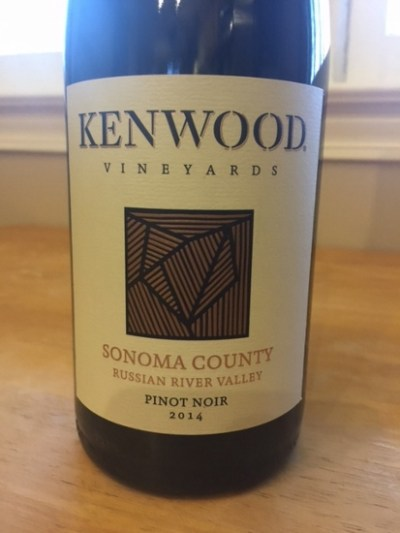 2014 Kenwood Russian River Valley Pinot Noir