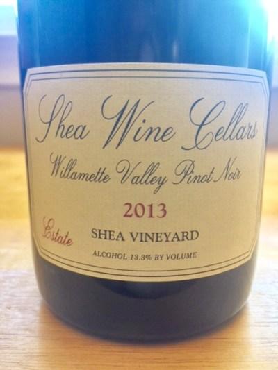 2013 Shea Wine Cellars Estate Pinot Noir
