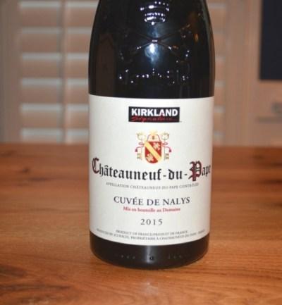 2015 Kirkland Signature Chateauneuf du Pape