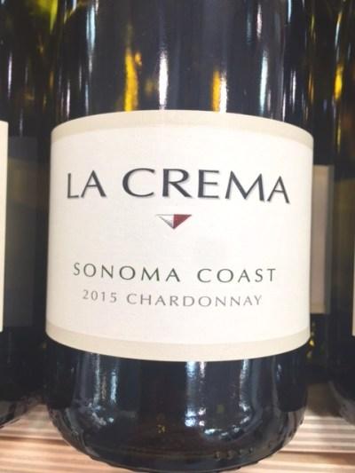 2015 La Crema Sonoma Coast Chardonnay
