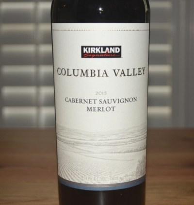 2015 Kirkland Signature Columbia Valley Cabernet Sauvignon-Merlot