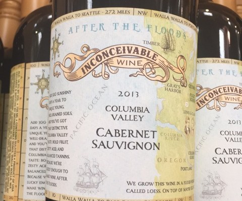 "2013 Inconceivable ""After The Flood"" Cabernet Sauvignon Columbia Valley"