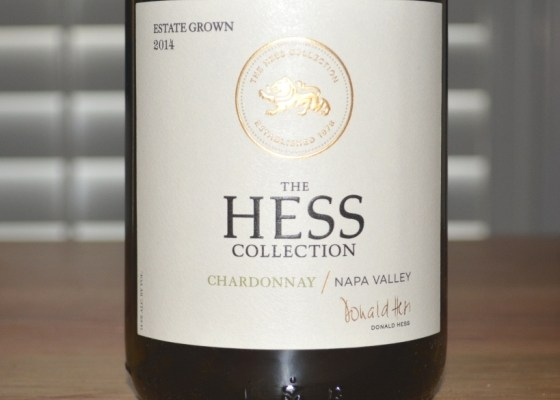2014 Hess Collection Napa Valley Chardonnay