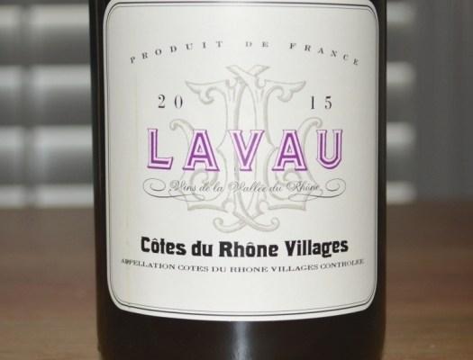 2015 Lavau Cotes du Rhone Villages