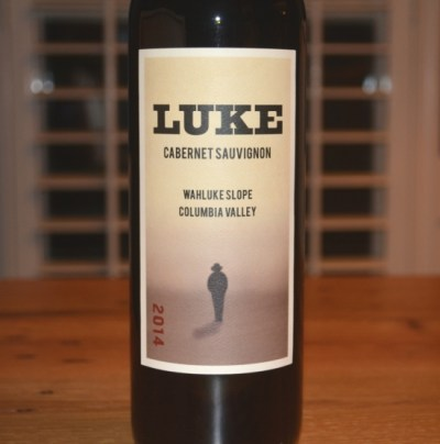 2014 Luke Cabernet Sauvignon Wahluke Slope Columbia Valley