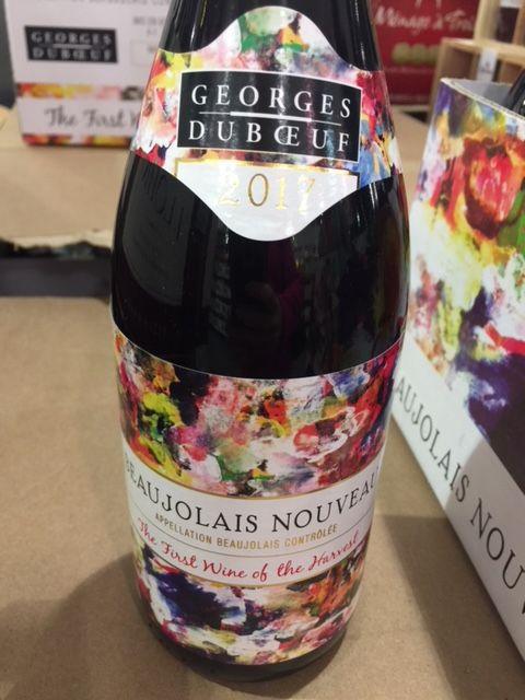 2017 Georges Duboeuf Beaujolais Nouveau