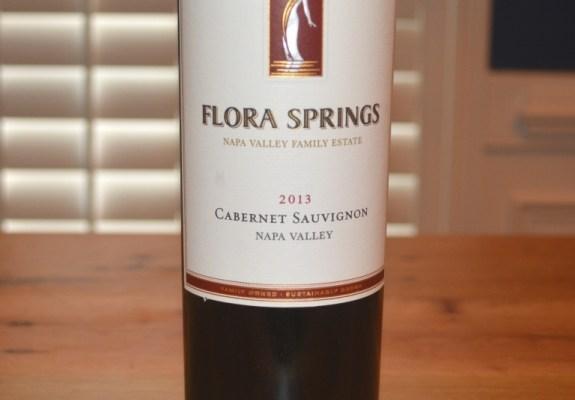 2013 Flora Springs Napa Valley Cabernet Sauvignon