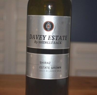 Shingleback The Davey Estate Shiraz